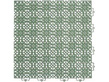 Andiamo ANDIAMO Klick-Fliesen »Terra Sol«, 7 Stk., BxL: je 38x38 cm, grün, grün