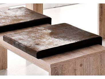 Mäusbacher Sitzkissen, Breite 40 cm, braun, Breite 40 cm, Buffalo braun