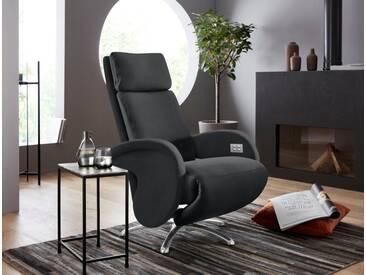 W.SCHILLIG Relaxsessel »jupiter« mit Sternfuß, schwarz, schwarz Z59