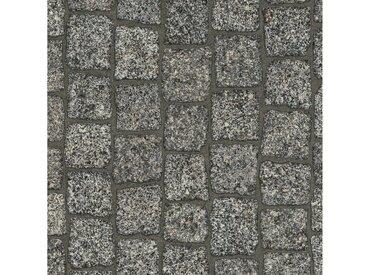 Andiamo ANDIAMO Vinylboden »Coupon Cobble«, verschiedene Breiten, Meterware, Steinboden-Optik, grau, 200 cm, grau
