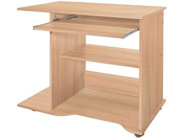 Wilmes Nähmaschinen-Tisch, Maße80x50x75 cm, braun, buchefarben
