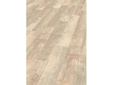 EGGER Designboden »HOME Design Eiche alt hell«, 4-Seitige Fase 1,989 m²/Pkt., Stärke: 5 mm, grau, grau