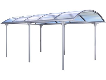 KGT Einzelcarport »Elbe«, Aluminium, BxT: 312x531 cm, silberfarben, silberfarben