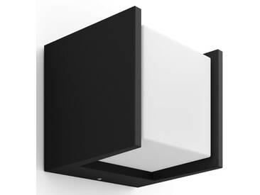 Philips Hue LED Außen-Wandleuchte »Fuzo«, 1-flammig, schwarz, 1 -flg. /, schwarz
