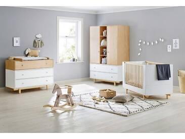 Pinolino® Pinolino Babyzimmer-Set (3-tlg.), Kinderzimmer, »Boks, breit/groß«, weiß, Weiß