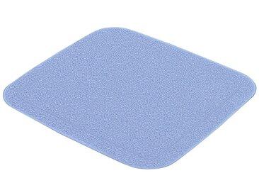 Kleine Wolke KLEINE WOLKE Duscheinlage »Java-Plus«, BxH: 55 x 55 cm, blau, capriblau