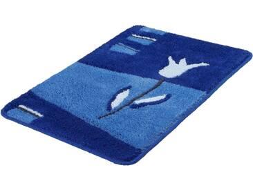 Kleine Wolke Badematte »Tulpa« , Höhe 20 mm, rutschhemmend beschichtet, blau, 20 mm, royalblau