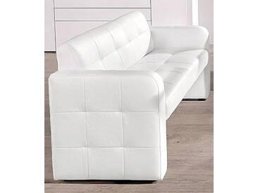 exxpo - sofa fashion 2er Bank, Gala collezione , mit Rückenlehne, weiß, 2er Bank, weiß