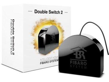 Fibaro Smart Home Zubehör »Relais Unterputzeinsatz 2 Schalter - Z-Wave«, schwarz, Schwarz
