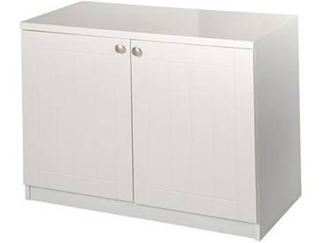 Roba® Roba Kommode »Florenz«, Breite 85 cm, weiß, weiß