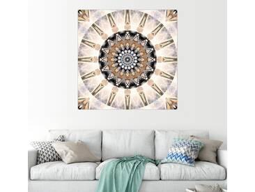 Posterlounge Wandbild - Christine Bässler »Mandala Reinheit«, natur, Acrylglas, 120 x 120 cm, naturfarben
