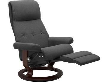 Stressless® Relaxsessel »Sky« mit Classic Base und LegComfort™, Größe M, Gestell braun, grau, dark grey Q2