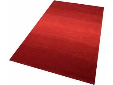 THEKO Teppich »Wool Comfort«, rechteckig, Höhe 15 mm, Wolle, rot, 15 mm, rot