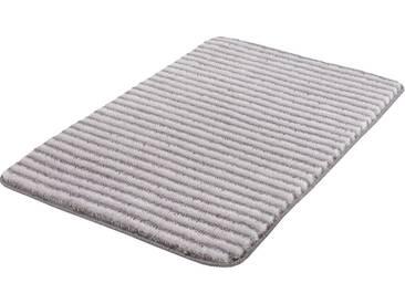 MEUSCH Badematte »Lana« , Höhe 15 mm, rutschhemmend beschichtet, fußbodenheizungsgeeignet, grau, 15 mm, anthrazit