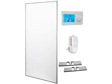 RÖMER Infrarot Heizsysteme Infrarotheizung Aluminium, 850 W, 60x120 cm, weiß, weiß