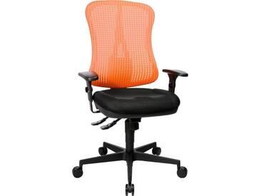 TOPSTAR Bürostuhl »Head Point SY«, schwarz, schwarz/coralrot