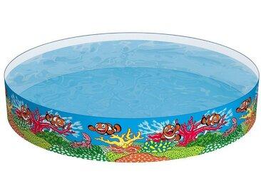 Bestway Fill 'N Fun Fix-Planschbecken Clownfish, 244x46 cm