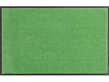 HANSE Home Fußmatte »Deko Soft«, rechteckig, Höhe 7 mm, saugfähig, waschbar, grün, 7 mm, grün