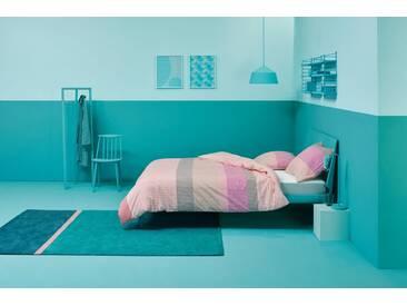 Esprit Wendebettwäsche »Makon«, rosa, 1x 155x220 cm, Perkal, pink
