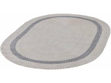THEKO Teppich »Benito«, oval, Höhe 6 mm, In- und Outdoor geeignet, natur, 6 mm, creme