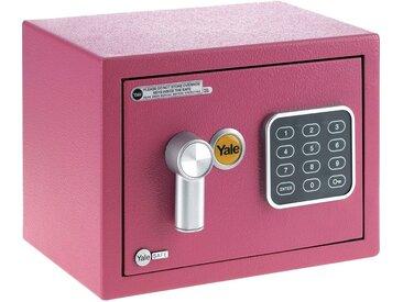 Yale YALE Tresor »Mini«, Elektronisches Schloss mit Handöffnung, rosa, rosa