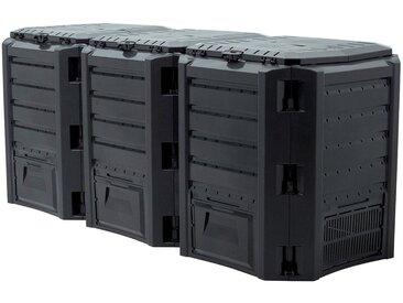 Prosperplast PROSPERPLAST Schnellkomposter »Compothermo«, BxTxH: 198x72x83 cm, 1200 Liter
