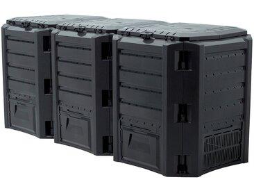 Prosperplast PROSPERPLAST Schnellkomposter »Compothermo«, BxTxH: 198x72x83 cm, 1200 l