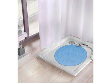 Kleine Wolke KLEINE WOLKE Duscheinlage »rund«, Breite 55 cm, blau, blau