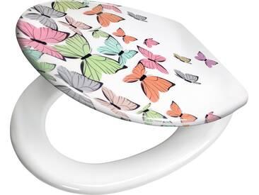 Kleine Wolke WC-Sitz »Butterflies«, bunt, multicolor