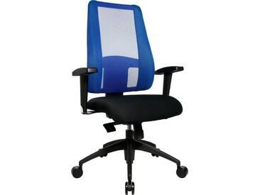 TOPSTAR Bürostuhl »Lady Sitness Deluxe«, schwarz, schwarz/blau