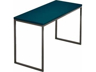 now! by hülsta Couchtisch »CT 17« zeitloses Design in hochwertiger Verarbeitung, grün, Maße (B/T/H): 106/42/34 cm, Tischplatte petrol