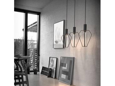 Licht-Trend Pendelleuchte »Ragno LED in außergewöhnlichem Design«, schwarz, Schwarz