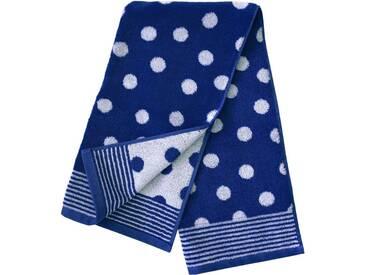 Dyckhoff Badetuch »Dots«, mit Punkten, blau, Walkfrottee, marine