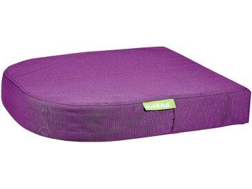 OUTBAG Auflage »Moon pillow PLUS«, robust und wasserdicht, B/L: 45x45 cm, lila, 1 Auflage, lila