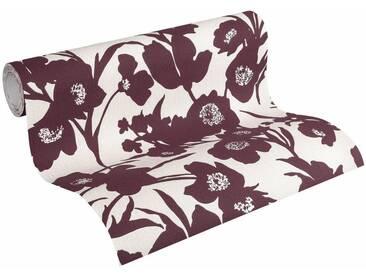 Esprit Vliestapete »Fall in Love«, floral, FSC®, RAL-Gütezeichen, bunt, natur-dunkelrot-silberfarben