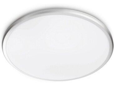 Philips LED Deckenleuchte »myLiving Twirly 2700K,1700lm, Grau«, 1-flammig