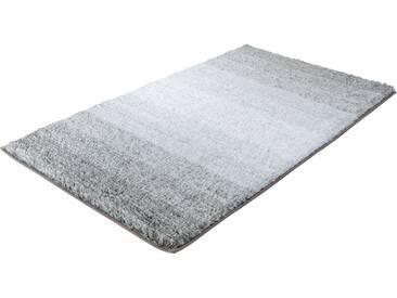 Kleine Wolke Badematte »Oslo« , Höhe 30 mm, rutschhemmend beschichtet, fußbodenheizungsgeeignet, grau, 30 mm, platinfarben