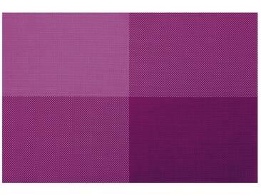 Contento Platzset »Zarah« (Set 4-tlg), lila, Vinyl, dunkellila
