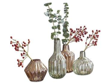 Loberon Vase 4er Set »Susann«, grün, grün