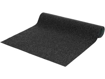 Andiamo ANDIAMO Kunstrasen »Komfort«, 400 cm Breite, Länge nach Wunschmaß, grau, Standard-Qualität, grau