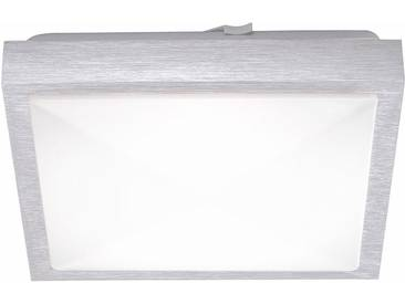 Leuchten Direkt LED Deckenleuchte »WOLOF«, silberfarben, aluminiumfarben