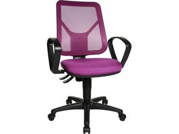 TOPSTAR Bürostuhl »Airgo Net«, lila, lila