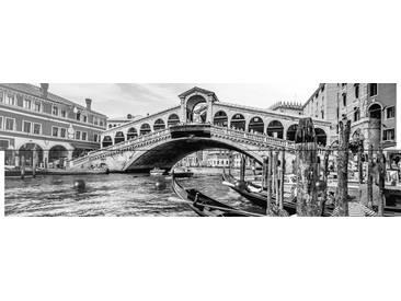 Artland Wandgarderobe »canadastock: Canal Grande - Rialtobrücke Venedig«, weiß, 30 x 90 x 2,8 cm, Weiß