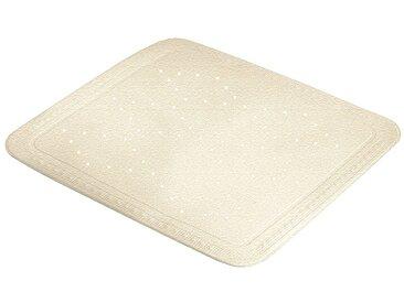 Kleine Wolke KLEINE WOLKE Duscheinlage »Arosa«, BxH: 55 x 55 cm, natur, sandbeige