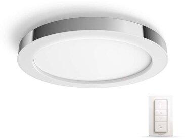 Philips Hue LED Deckenleuchte »White Amb. Adore Chrom 2400lm Dimmschalter«, 1-flammig
