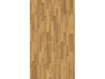PARADOR Laminat »Basic 400 - Eiche Natur«, 1285 x 194 mm, Stärke: 8 mm, braun, braun