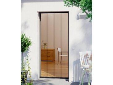 WINDHAGER Insektenschutz-Vorhang »EASY«, BxH: 95x220 cm, anthrazit, 95 cm x 220 cm, 95 cm x 220 cm, Türen