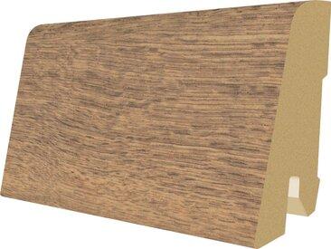 EGGER Sockelleiste »L487 - Perganti Nussbaum braun«, 6 cm Sockelhöhe, 240 cm Länge, braun, braun