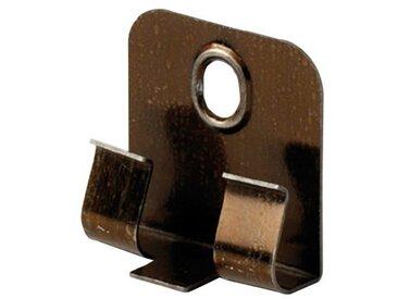 EGGER Packung: Leisten-Befestigungsclips »Clipstar«, 50 Stück, silberfarben, silberfarben