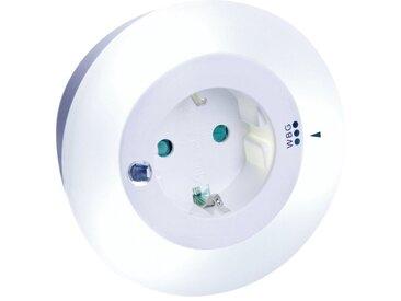 REV Nachtlicht »Nachtlicht LED 3 Farben mit Steckdose«, weiß, white